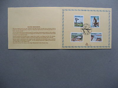 TRANSKEI, 1st-day card 1979, water resources, irrigation windmill