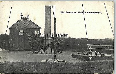 Postcard The Borestone Field of Bannockburn Stirling Scotland Unused