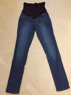 Blooming Marvellous By Mothercare Indigo Blue Straight/Skinny Jeans Size 10.