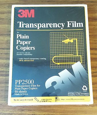 3m Transparency Film PP2500 50 Sheets