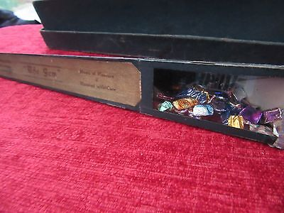 Vintage The 'Gem' Kaleidoscope + Box Toy Novelty Young And Old Rare FD13