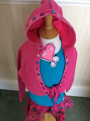 BNWT Girls 3 Piece Outfit By Mim-Pi (2 Years) **BARGAIN**