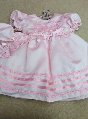 BNWT Girls 2 Piece Pink Party Dress Set By Vivaki (2 Years) *FREE UK P&P*