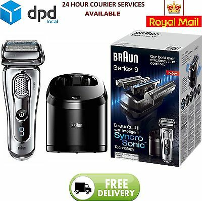 Braun Series 9 9095CC Men's Electric Foil Shaver Wet and Dry Cordless Razor