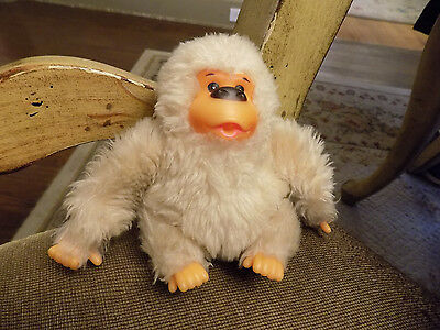 "Vtg Russ BABY GONGA Stuffed Plush Thumb Sucking GORILLA 5"" Ape Monkey Doll    87"