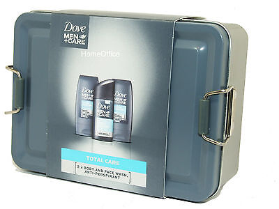 Dove For Men Gift Set - Body Wash Etc Nice Gift In A Tin