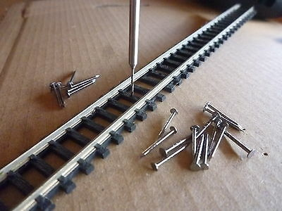 SPECIAL PRE-DRILL for Railtracks, Gauge N / H0e - POSTAGE-FREE (UK)