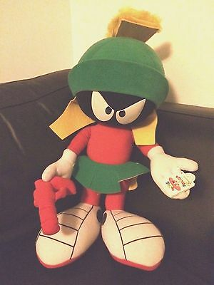 "Huge 2 ft 24"" Marvin Martian Plush Applause 1994 with tags Looney Tunes"