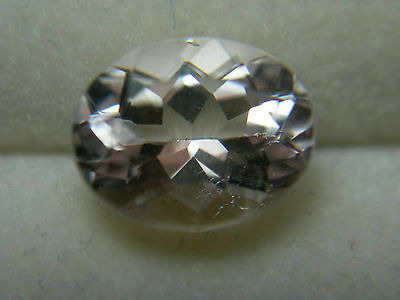 very nice genuine Morganite gem Pink Beryl Gemstone Brazil oval 2.00ct