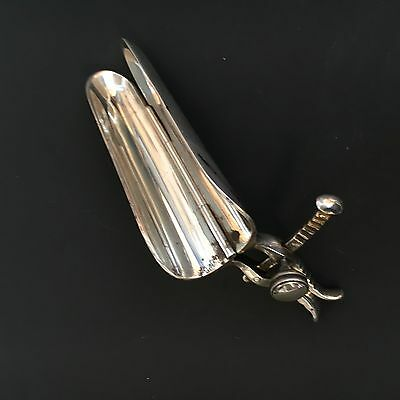 Adjustable Silver Plated Speculum C1870 Medical Instrument