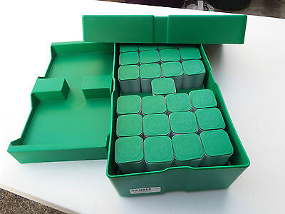 Monster Box 1 oz. Silver Eagle U.S Mint American With 25 Empty Tubes (NO COINS)