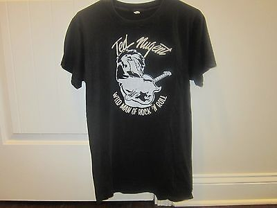 Rare, Vintage Ted Nugent, Wild Man of Rock and Roll Concert Tshirt, 1979