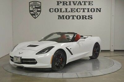 2016 Chevrolet Corvette  2016 Chevrolet Corvette Stingray 3k Miles Perfect Red Interior Clean Carfax
