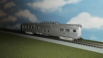 HO Rolling Stock - Passenger Car / Coach - SANTA FE - ATSF 500 - With Glass Roof