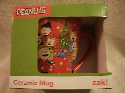 New Christmas Holiday A Charlie Brown Christmas Peanuts Coffee Mug 10 Oz.