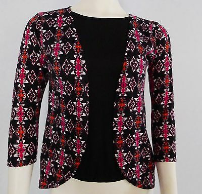 extremely me! long sleeve shirt top size 14/16  girls dolman layered New