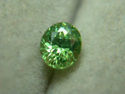 very rare Demantoid Garnet Green Dragon Mine Namibia Genuine Gemstone gem oval