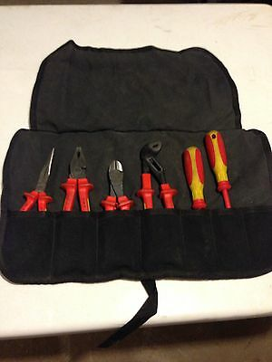 knipex 7 Piece Insulated Tool Set