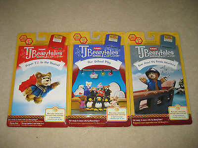LOT OF 3 TJ BEARYTALES books & cartridges    *ALL BRAND NEW IN PACKAGE*