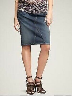 Maternity Denim Skirt Sz 12 M