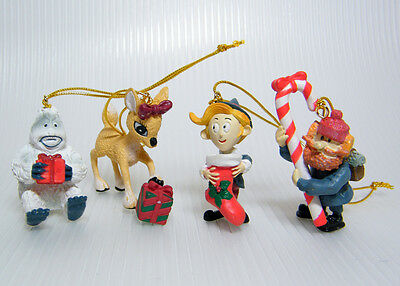 Miniature Ornaments RUDOLPH The Red-Nosed Reindeer Movie Characters