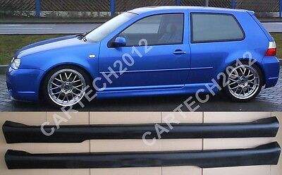 VW Golf MK4 4 IV Side Skirts R32, 3 Door, tuning