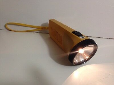 Vintage SANYO NL-1000N CADNICA LIGHT Rechargeable Flashlight Torch, Japan