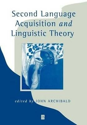 Second Language Acquisition by Archibald Paperback Book (English)