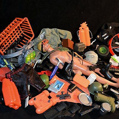 ☆ Action Man ☆ Job Lot Of  Accessories Some Rare Lot No.2289 ☆