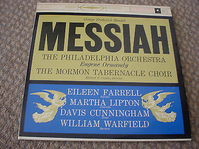 MESSIAH Handel Eugene Ormandy Philly Orchestra M2S-607 DBL USA/US LP
