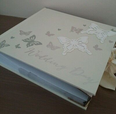 Wings of Love 3D Butterfly Photo Album Perfect  Wedding Gift