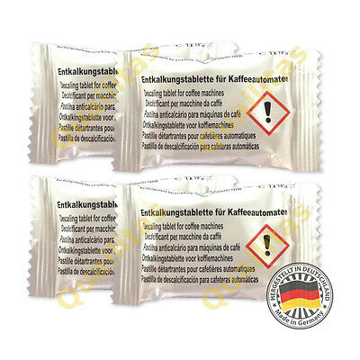 4 Descaling Tablets for Krups (alternative to KRUPS Descaler Kit F054)
