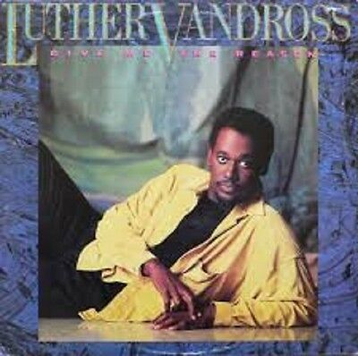 Luther Vandross Give me the reason UK Epic Vinyl LP