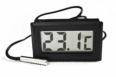 Aquarium Temperature Gauge Lcd Digital.thermometer... X5 £9.99 Uk Seller !!