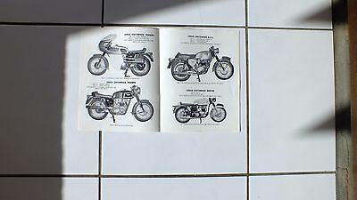 CHUCK   CUstomised MOTOR CYCLES SALES BROCHURE, norton .bsa, triumph 1968