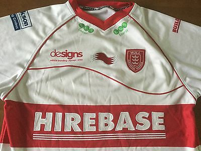 Hull Kingston Rovers RFC adult rugby league shirt. Size medium.