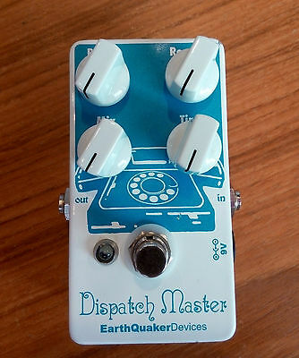 EarthQuaker Devices Dispatch Master Reverb Guitar Effect Pedal USED