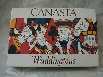 Waddington's Canasta and Bolivia Samba card game