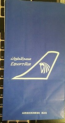 Sicknessbag Egyptair , Old Issue,2