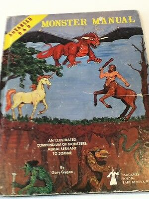Advanced Dungeons And Dragons Monster Manual Tsr 1979