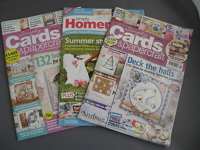 Simply Cards and papercraft magazines and Simply homemade Magazine