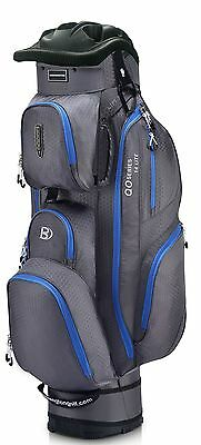 Bennington Cartbag QO 14 Lite Farbe: Canon Grey/Electric Blue Neu!