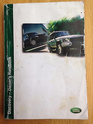 Land Rover Discovery 2 Owners Handbook