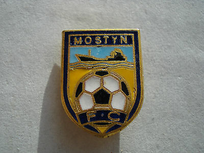 OLD..MOSTYN FOOTBALL CLUB..WALES..ENAMEL STICK PIN BADGE with GILT..WELSH