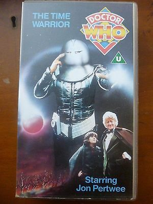 Doctor Who The Time Warrior VHS BBC Video