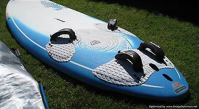 windsurfing-Starboard Carve 161 Board, Tushingham 6.5m Sail and full rig