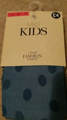 childs fashion tights - Age 9 to 10 years (M&S)