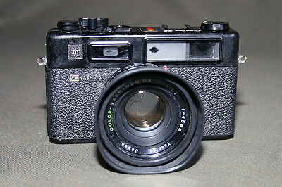 Yashica Electro 35 GTN 35mm Rangefinder Film Camera with 45mm Lens