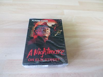 A NIGHTMARE  ON ELM STREETSealed Pack of  Playing Cards