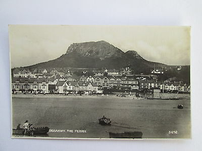 Vintage RP Postcard - Deganwy , The Ferry , Conwy , North Wales .